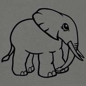 Elephant small cute cute baby child offspring T-Shirts - Men's T-Shirt