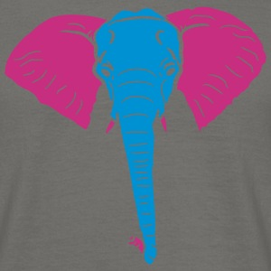Thick little cute baby elephant child cute painted T-Shirts - Men's T-Shirt