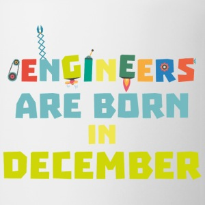 Engineers are born in December Sma90-Design Mugs & Drinkware - Mug