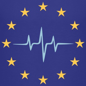 Pulse of Europe, UE, Pouls Union européen, Étoiles Tee shirts - T-shirt Premium Ado