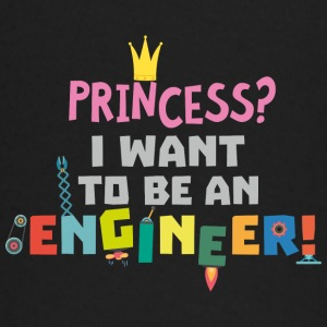 Princess  I want to be an Engnineer S2yb2 Baby Long Sleeve Shirts - Baby Long Sleeve T-Shirt