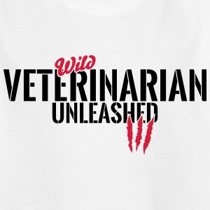 Wilder Veterinär entfesselt T-Shirts - Teenager T-Shirt