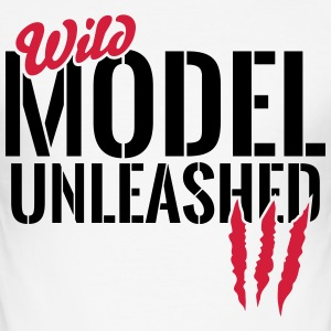 Vilda modell unleashed T-shirts - Slim Fit T-shirt herr