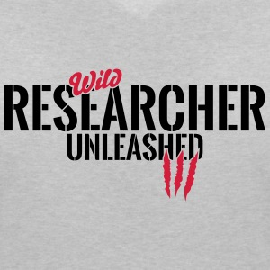 Wilder researchers unleashed T-Shirts - Women's V-Neck T-Shirt