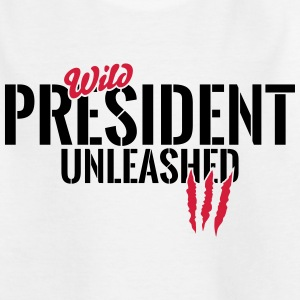 Vilde formand unleashed T-shirts - Teenager-T-shirt