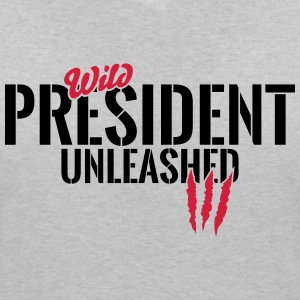 Wild President unleashed T-Shirts - Women's V-Neck T-Shirt