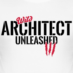 Unleashed wild architect T-Shirts - Men's Slim Fit T-Shirt