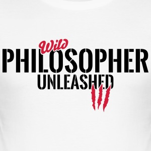 Wild philosopher unleashed T-Shirts - Men's Slim Fit T-Shirt