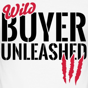 Wild buyers unleashed T-Shirts - Men's Slim Fit T-Shirt