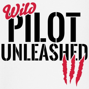 Wild pilot unleashed Baby Long Sleeve Shirts - Baby Long Sleeve T-Shirt