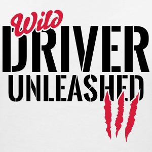 Wild rider unleashed T-Shirts - Women's V-Neck T-Shirt