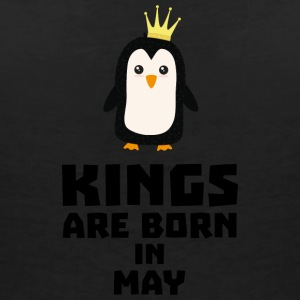 kings born in MAY S8l1m T-Shirts - Women's V-Neck T-Shirt