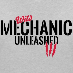 Wild mechanic unleashed T-Shirts - Women's V-Neck T-Shirt
