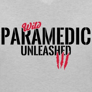 Wild Medic unleashed T-Shirts - Women's V-Neck T-Shirt
