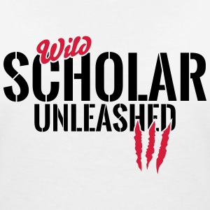 Wild students unleashed T-Shirts - Women's V-Neck T-Shirt