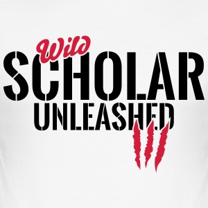 Vilda studenter unleashed T-shirts - Slim Fit T-shirt herr