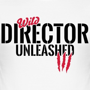 Wild Director unleashed T-Shirts - Men's Slim Fit T-Shirt