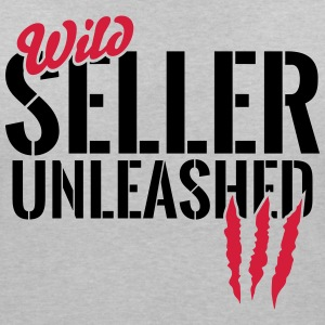 Wild seller unleashed T-Shirts - Women's V-Neck T-Shirt