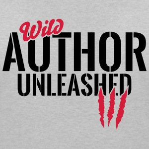 Wild writer unleashed T-Shirts - Women's V-Neck T-Shirt