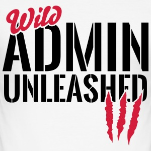 Wild Admin unleashed T-Shirts - Männer Slim Fit T-Shirt