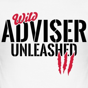 Vildere rådgiver unleashed T-shirts - Herre Slim Fit T-Shirt
