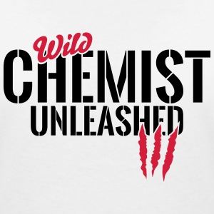 Wild chemist unleashed T-Shirts - Women's V-Neck T-Shirt