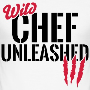 Wild cooking unleashed T-Shirts - Men's Slim Fit T-Shirt