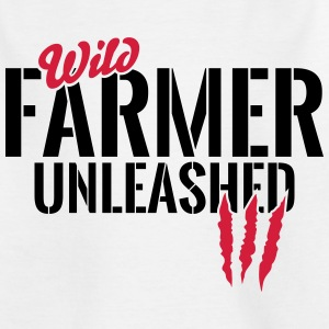 Wild farmer unleashed Shirts - Teenage T-shirt