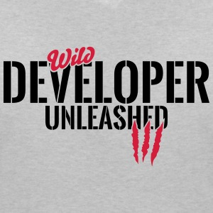 Wild developers unleashed T-Shirts - Women's V-Neck T-Shirt