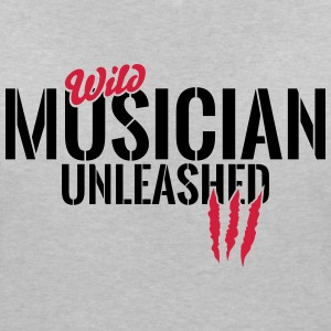 Wild musicians unleashed T-Shirts - Women's V-Neck T-Shirt