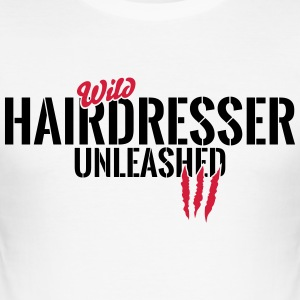 Vilda hår unleashed T-shirts - Slim Fit T-shirt herr