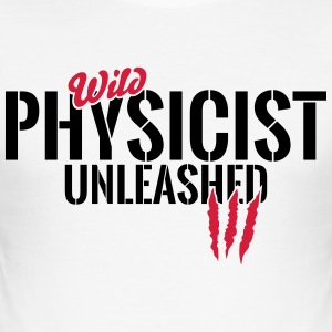 Wild physicist unleashed T-Shirts - Men's Slim Fit T-Shirt