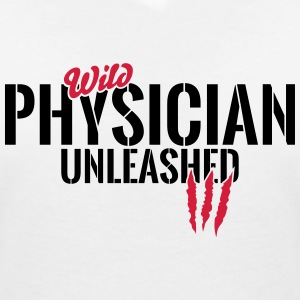 Wild medical unleashed T-Shirts - Women's V-Neck T-Shirt