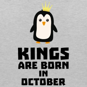 kings born in OCTOBER Sy5jt T-Shirts - Women's V-Neck T-Shirt
