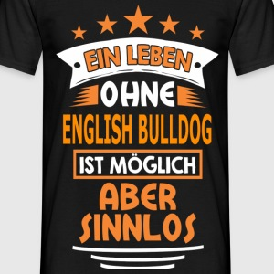 english_bulldog T-Shirts - Männer T-Shirt