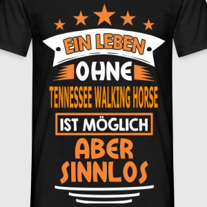 tennessee_walking_horse T-Shirts - Männer T-Shirt
