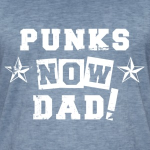 VATERBIER Punks now Dad Vintage Look - Men's Vintage T-Shirt