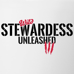 Wild stewardess unleashed Mugs & Drinkware - Mug
