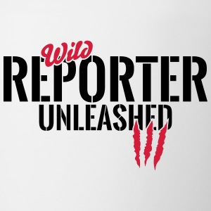 Wild reporter unleashed Mugs & Drinkware - Mug