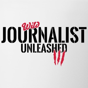 Wild journalist unleashed Mugs & Drinkware - Mug