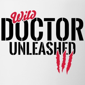 Wild doctor unleashed Mugs & Drinkware - Mug