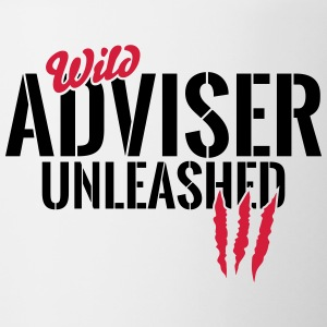 Wilder Adviser unleashed Mugs & Drinkware - Contrasting Mug