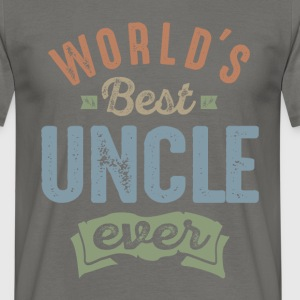 World's Best Uncle  - Men's T-Shirt