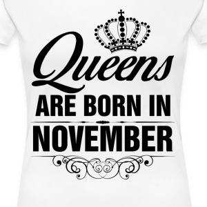 Queens Are Born In November Tshirt T-Shirts - Women's Premium T-Shirt