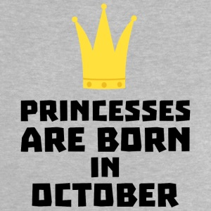 Princesses are born in OCTOBER Sew85 Baby Shirts  - Baby T-Shirt