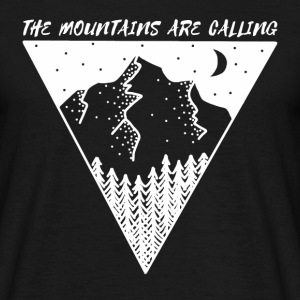 mountains are calling - Men's T-Shirt