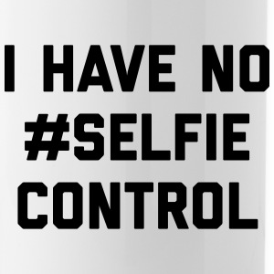 Self Control Funny Quote Mugs & Drinkware - Water Bottle