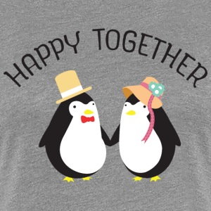 Happy Together T-Shirts - Frauen Premium T-Shirt