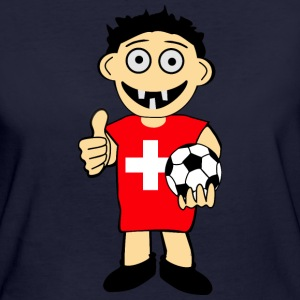 Swiss ball boy T-Shirts - Women's Organic T-shirt