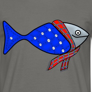 Cold water fish t-shirt for men - Men's T-Shirt